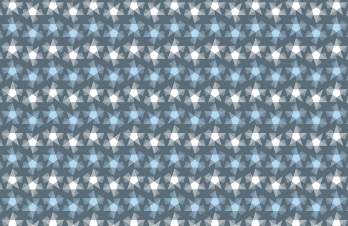 Stripy Stars Surface Pattern Design G 3