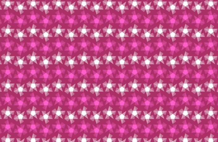 Stripy Stars Surface Pattern Design G 34