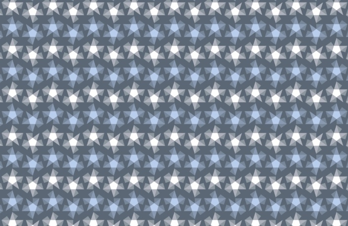 Stripy Stars Surface Pattern Design G 9