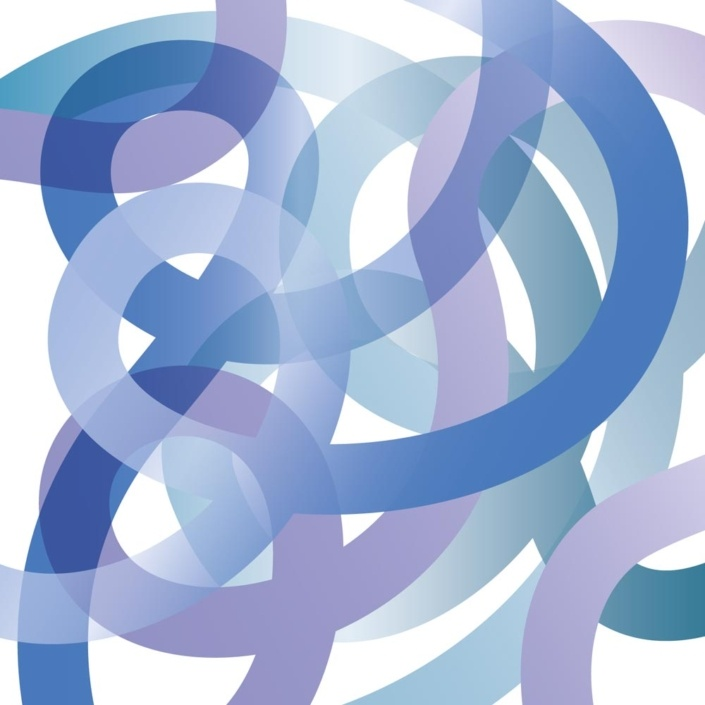 Twist - First sketch of Ribbons in Illustrator - now renamed Twist