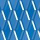 Duplex Pattern Design Swatch L44 blue2