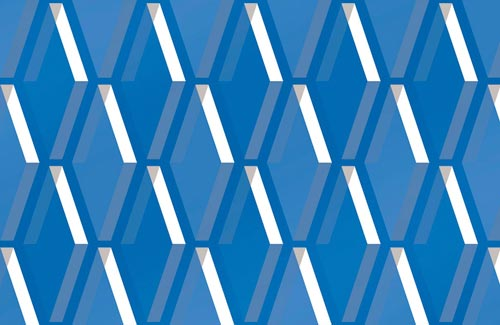 Duplex Pattern Design Swatch L44 blue2