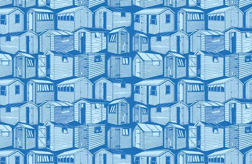 Sheds Pattern Design N14on13 14 swatch