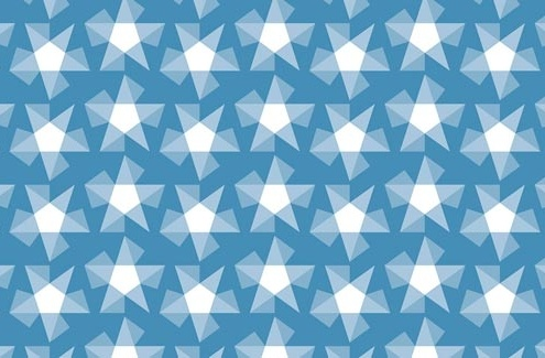 Stars Pattern Design E 31 swatch