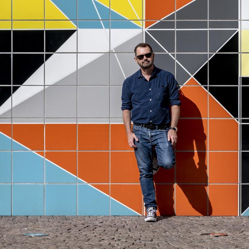 Colin Walton in Dusseldorf