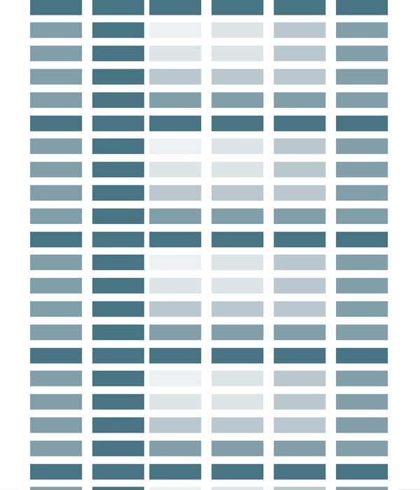 Colour Blocks Grid stretched