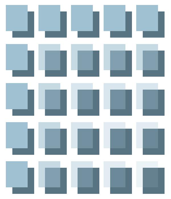 Colour Blocks Grid
