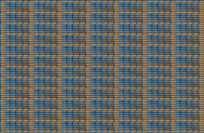 Colour Blocks Pattern Design A6-12