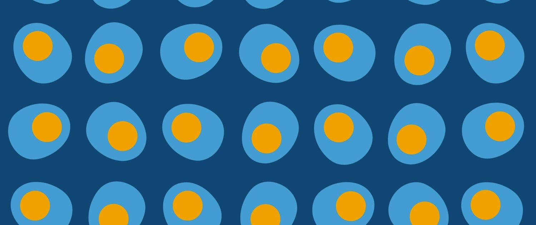 Egg Cups Pattern Design F-5-31-12-Mega