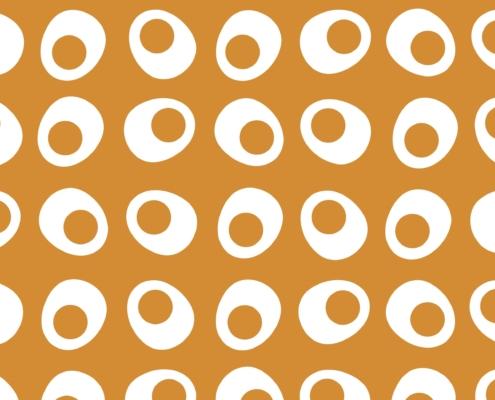Egg Cups Pattern Design F-6-0-6-Mega