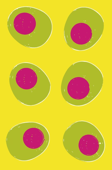 Egg Cups pattern development E