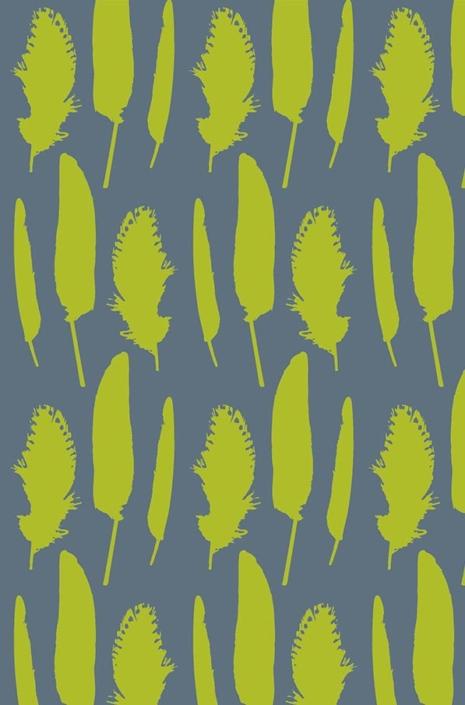 Feathers Pattern Development-C-35-3