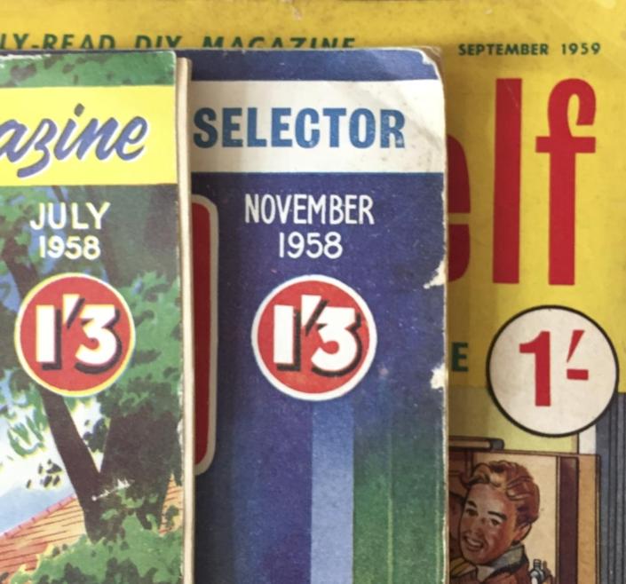 Old Price on magazines
