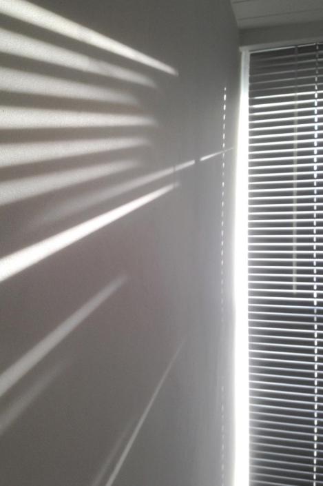 Shadows of Venetian Blind