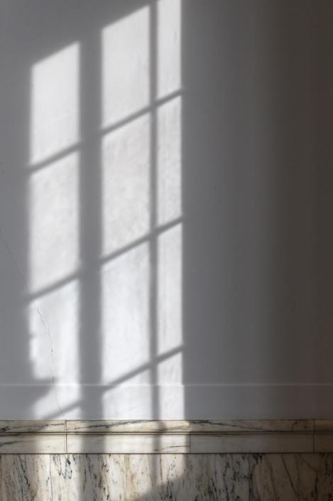 Shadows of large window