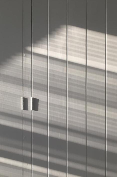 Shadows on doors