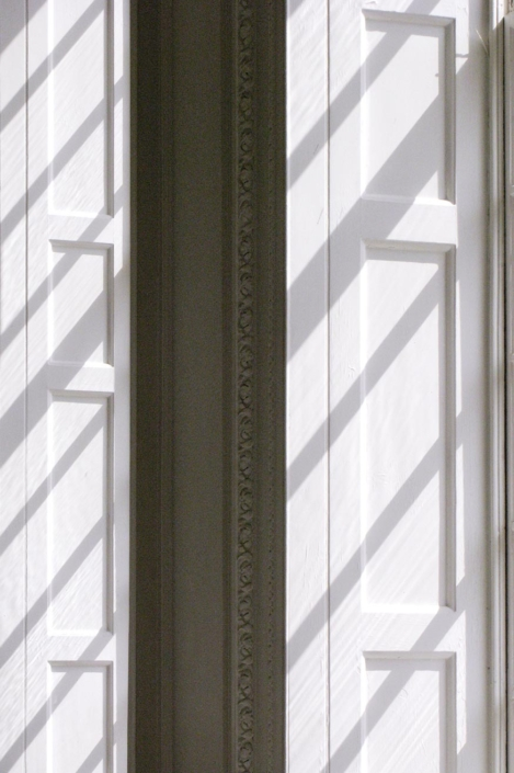 Shadows on shutters