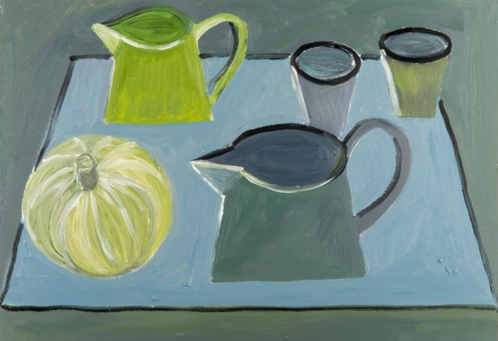 Two Jugs Painting